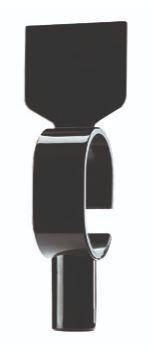 Schildring mit Gewicht, neutral schwarz