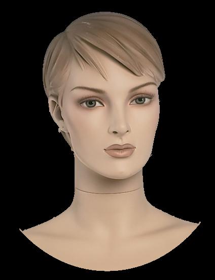Damenkopf 5,weiß oder hautfarben