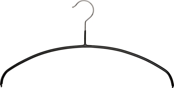 Strickwarenbügel, schwarz, verschiedene Längen VE 100 Stück