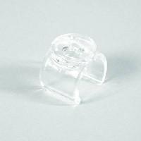 Kst.-Glasträger-Clip für Ø25mm inkl. Sauger