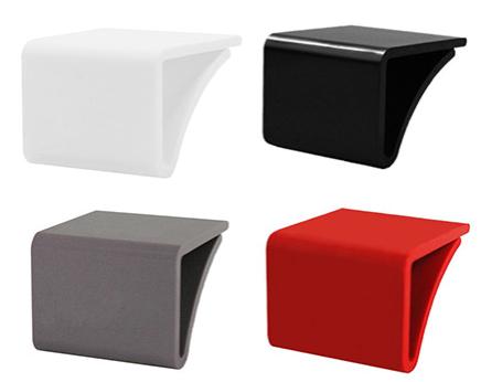 Fachbodenauszeichnung, Stärke 3-10 mm für Glasplatten, farbig neutral bis 10 mm