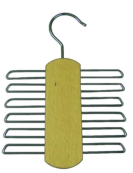 Krawattenhalter, Holzbügel