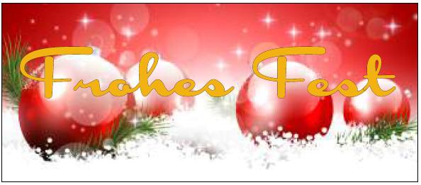 Ankleber Weihnachtsmotiv 70x30 cm