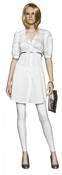 Damenfigur Jane, ohne Perücke, teint