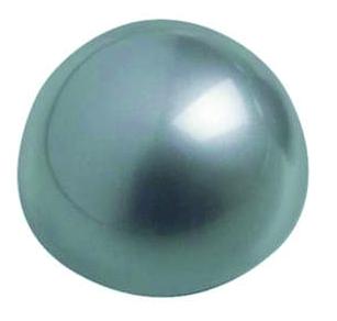 Kugelmagnet,Halbkugel weiß/silber Set
