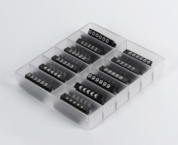 PV PreisMarker Set H 6 mm, 280 Teile
