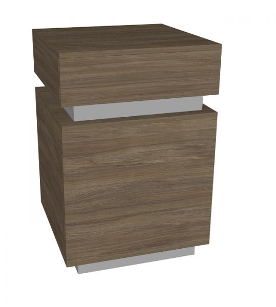 Cubox Kassentheke, B 60 cm, T 60 cm, H 90 cm