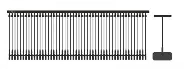 """Heftfäden """"Standard schwarz, Länge wählbar"""