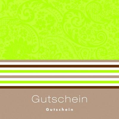 Gutschein Lime Grey