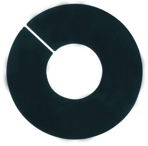 Ringscheibe schwarz neutral, extra groß, D110mm