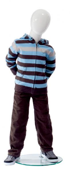 Kind 4 Jahre 1 Hochglanz weiss o. schwarz