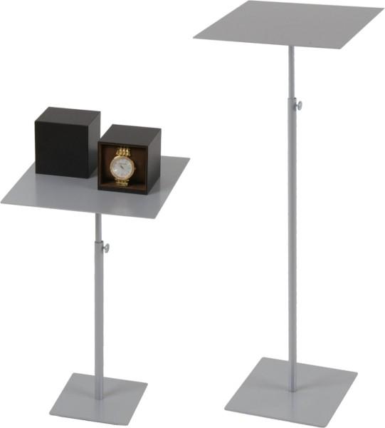 Präsentationstisch 25x25 cm, höhenverstellbar