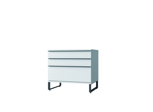LL-Container mit 2 Schubladen und 1 hohen Schublade