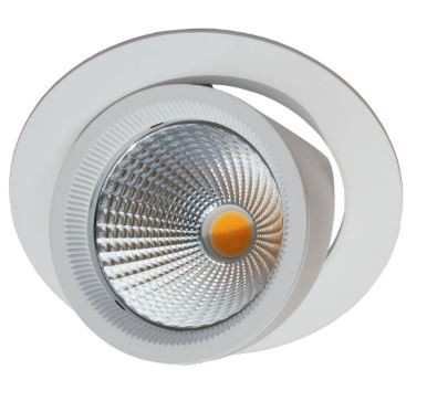 LED-Einbauleuchte schwenkbar weiss