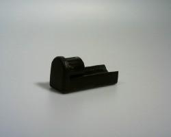 Distanzfuß für Ø25mm, schwarz