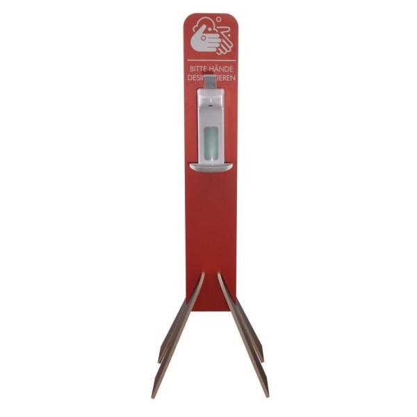 Mobile Hygienestation aus Holz