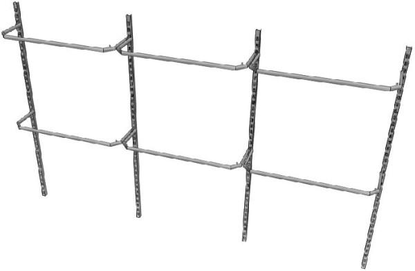 """Ladeneinrichtung """"4U"""" - Komplettangebot für 3 m"""
