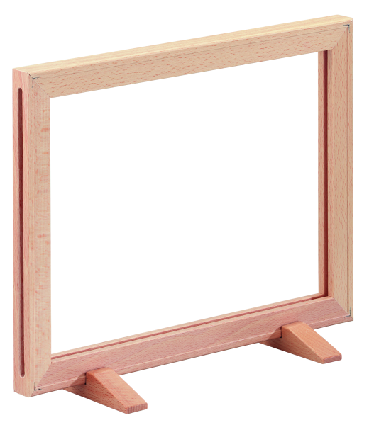 Plakatrahmen aus Holz DIN Formate