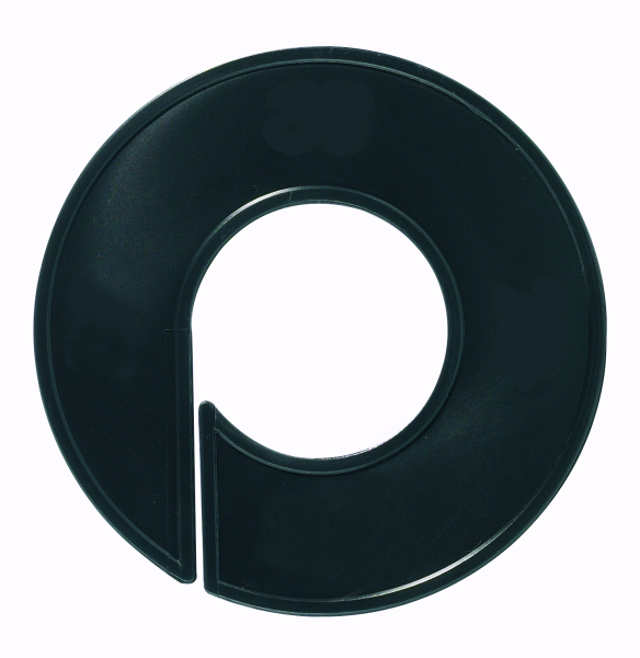 Ringscheibe schwarz mit Rand, neutral