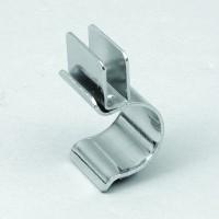 Glashalter Metall vertikal für 6mm Glas für Ø25mm