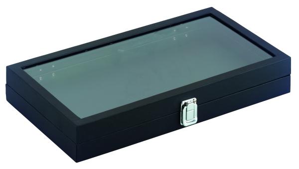 Präsentationsschatulle, Kunststoff schwarz
