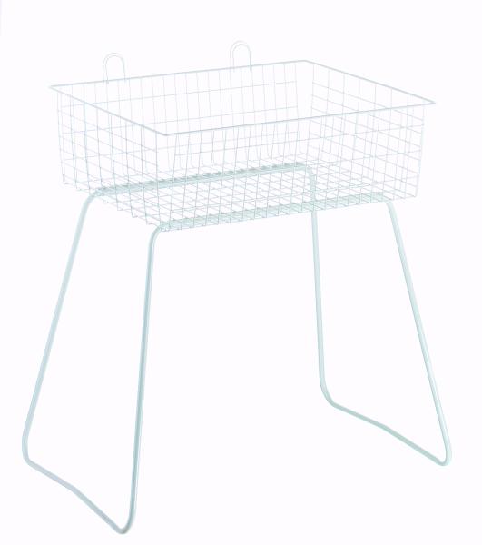 Wühltisch 70x56x46cm weiss
