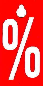 """Hänger """" % """" Auszeichnung für Kleiderbügel, beidseitig"""
