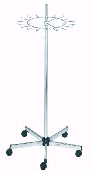 Gürtel-Krawattenständer, chrom D55cm
