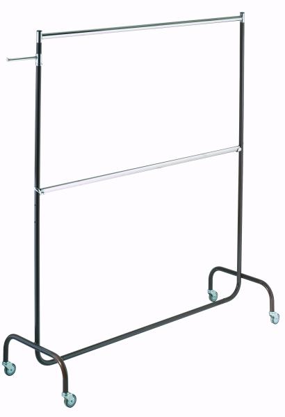 Doppelrollständer L 180 cm, braun