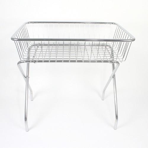 Wühltisch 90x60x90 cm verchromt