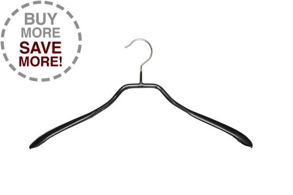 Schulterformbügel schwarz, verschieden Längen VE 50 Stück