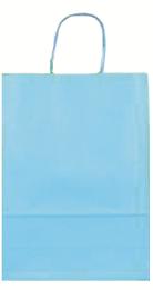 Papiertragetasche türkis