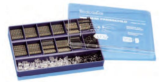 Preisschildkassette Mini 4 mm 589 Teile