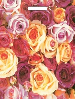 Abreißtasche Rosen ,100St