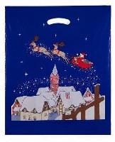 Weihnachtstragetasche Schlitten