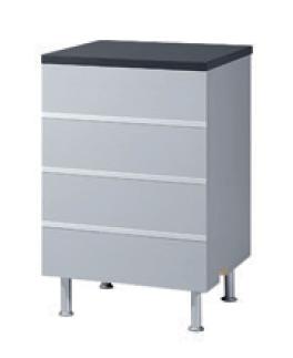 QBUS Counter 60, L60 cm T 60 cm H 93 cm