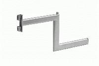 Stufenabhänger für Säule L=350mm, chrom