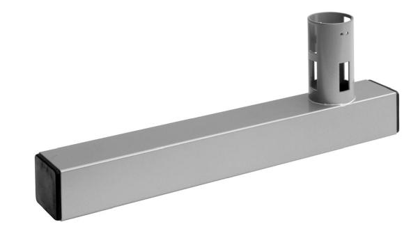 L-Fuß aus Rohr 60X60 mm, L 450 mm