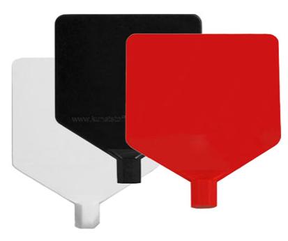 Fahne neutral für Stangenreiter
