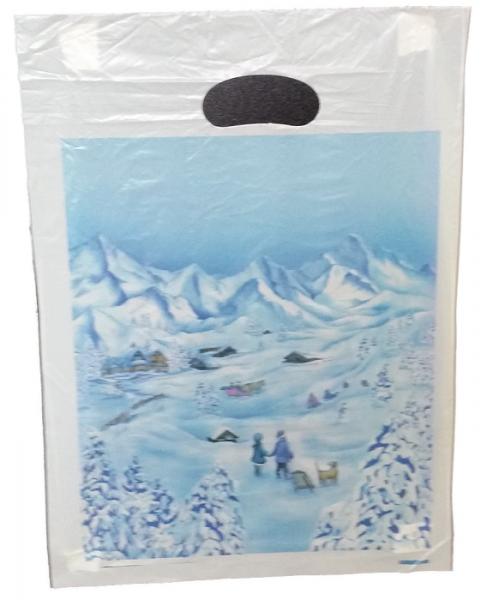 Abreißtaschetasche Winterlandschaft 25 x 36 cm