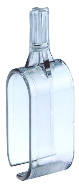 Klemmfuß ohne T-Stück für Ovalrohr 50x20mm