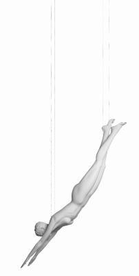 Sportfigur - Diver - Vanessa