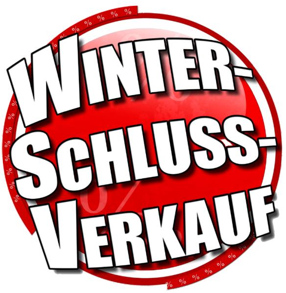 Ankleber Winterschlussverkauf