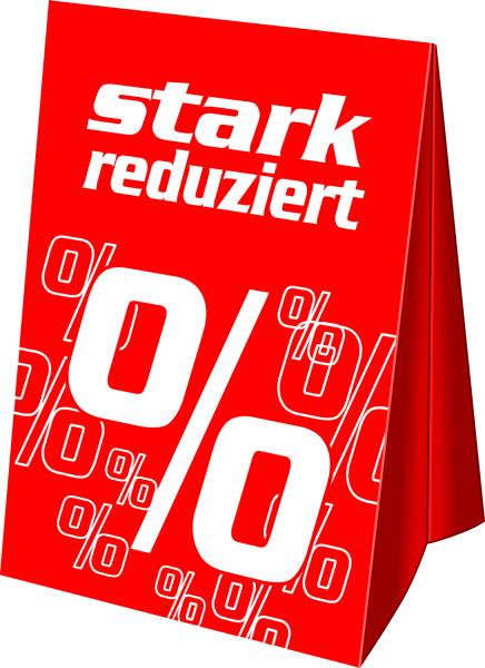 """A3 Dachaufsteller """"stark reduziert%"""""""