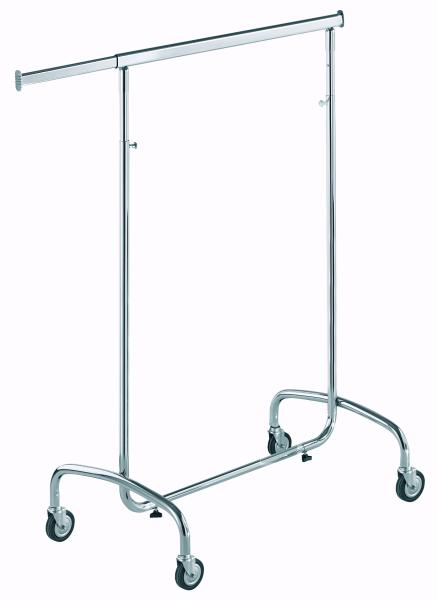 Rollständer chrom, Länge 80cm