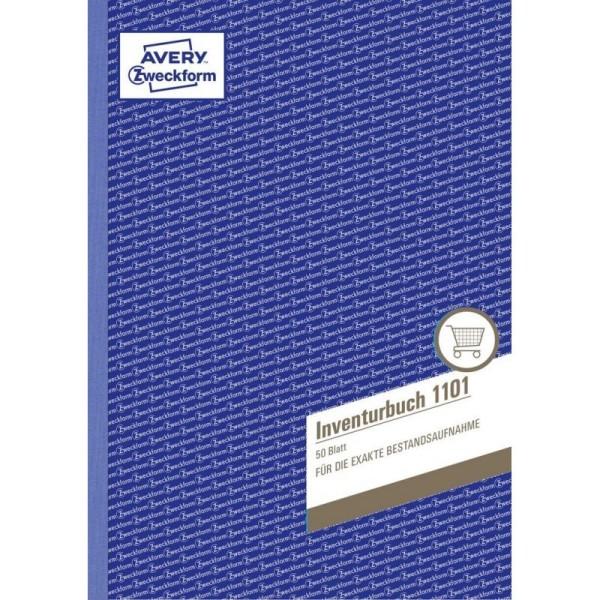 Zweckform-Formular Inventurbuch 1101 50Blatt