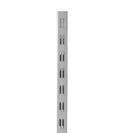 ALBA-SÄULE 60x30 alusilber, H 242 cm