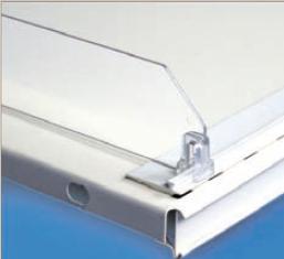 Snap-On Fachteiler brechbar H 60 mm, transparent