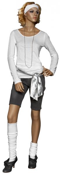Damenfigur Cameron, ohne Perücke, teint