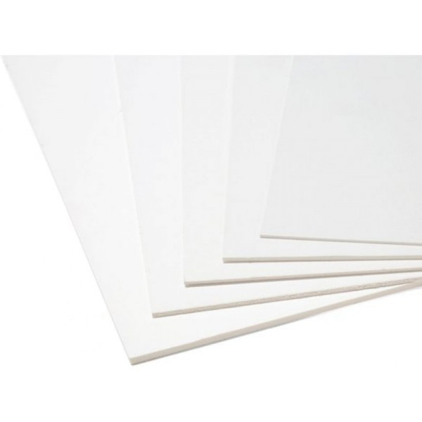 Plakatkarton beidseitig wei¯, 300g 1St
